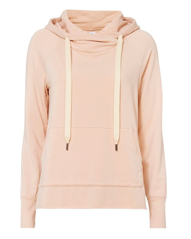 NSF Split Hem Hooded Sweatshirt