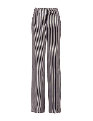 A.L.C. Miles Striped Silk Pants