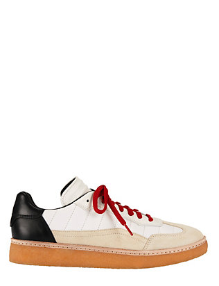 Alexander Wang Eden Colorblock Lace-Up Leather Sneaker