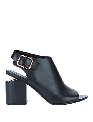 Nadia Peep-Toe Booties