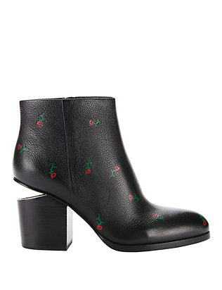 Alexander Wang Gabi Rose Print Booties