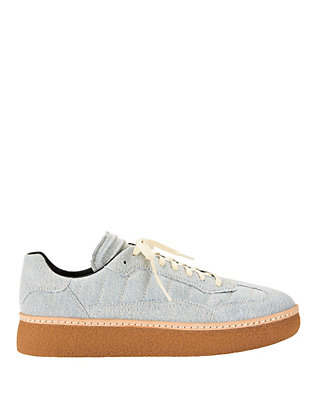 Alexander Wang Eden Low Top Denim Sneakers