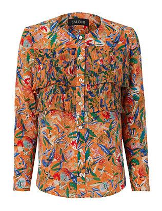 Jenny Ruffled Floral Shirt