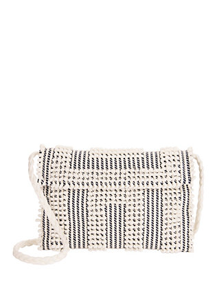 Antonello Tedde Suni Quadri Cotton Clutch