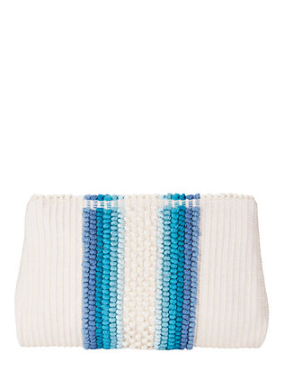Piatta Quadri Cotton Clutch