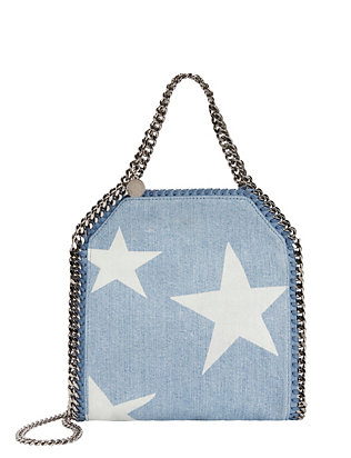 Star Denim Mini Baby Tote