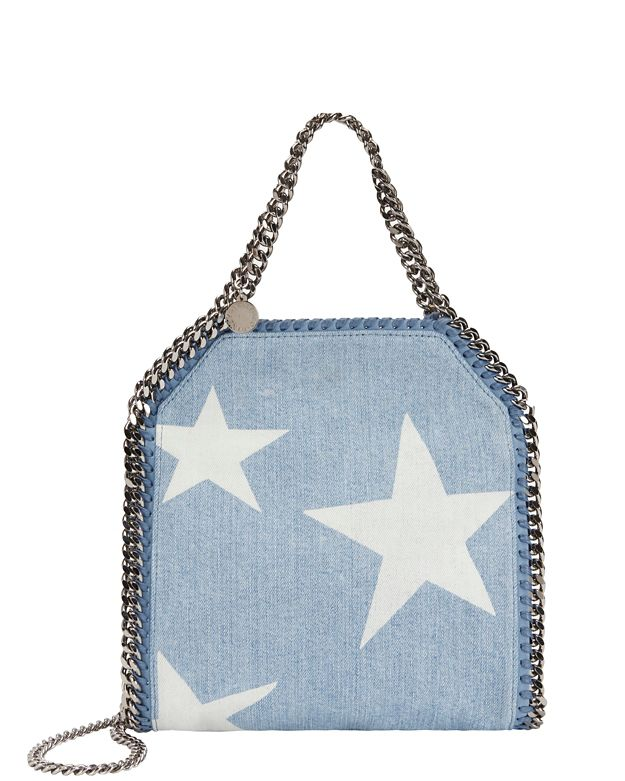 Stella McCartney Star Denim Mini Baby Tote