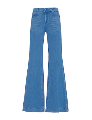 Stella McCartney 70's Denim Flare: Ultra Blue