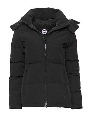Canada Goose Chelsea Fur Trim Hooded Parka: Black
