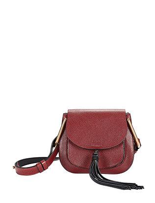 Hudson Mini Shoulder Bag: Burgundy