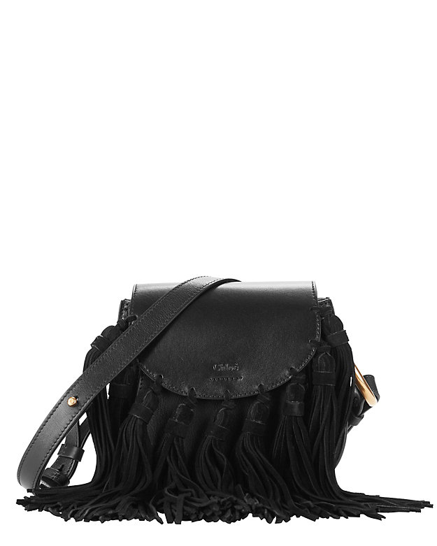 fake chloe bags uk - Chloe Hudson Fringe Leather Mini Shoulder Bag: Black | Shop ...