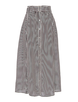 A.L.C. Divya Striped Skirt