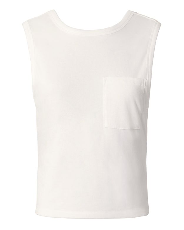 T by Alexander Wang Twisted Back Tank