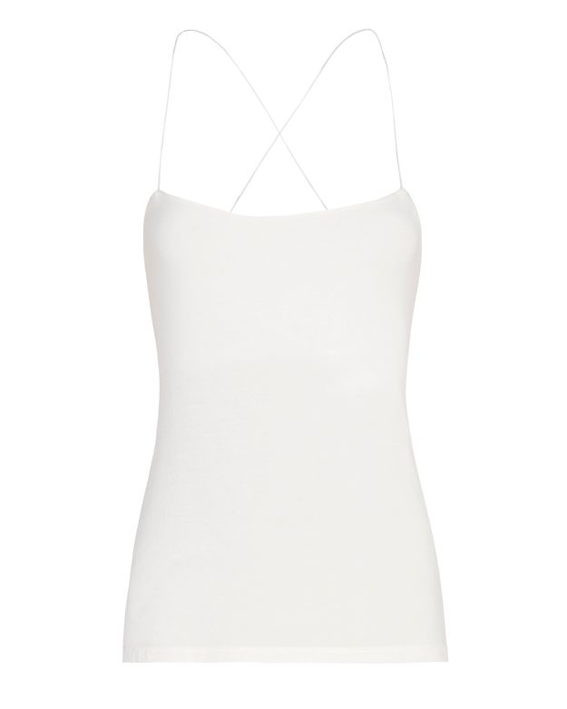 T by Alexander Wang Strappy Cami: White