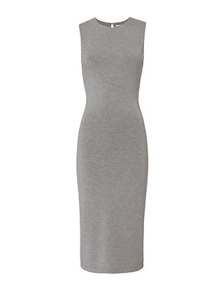 Slit Back Sleeveless Dress