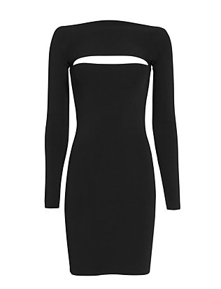 T by Alexander Wang Bandeau Full Kneedle Knit Dress