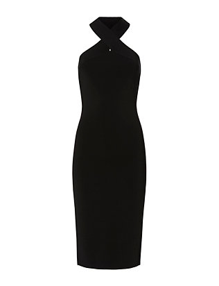 T by Alexander Wang Halter Dress