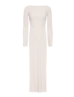 Stella McCartney Mist Side Slit Rib Knit