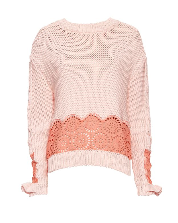 Stella McCartney Anglaise Broderie Sweater