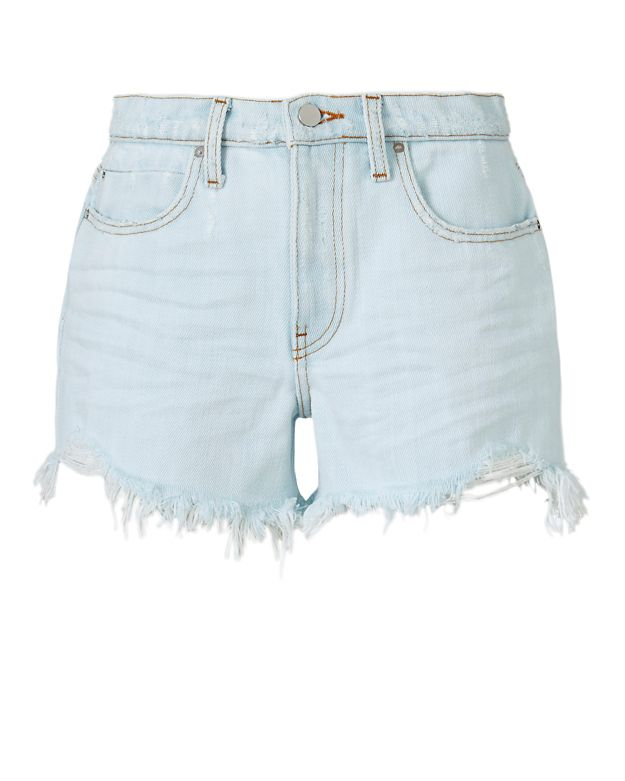 Alexander Wang Rage Bleach Destroyed Fray Short