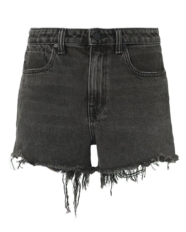 Alexander Wang Bite Grey Cut Off Shorts