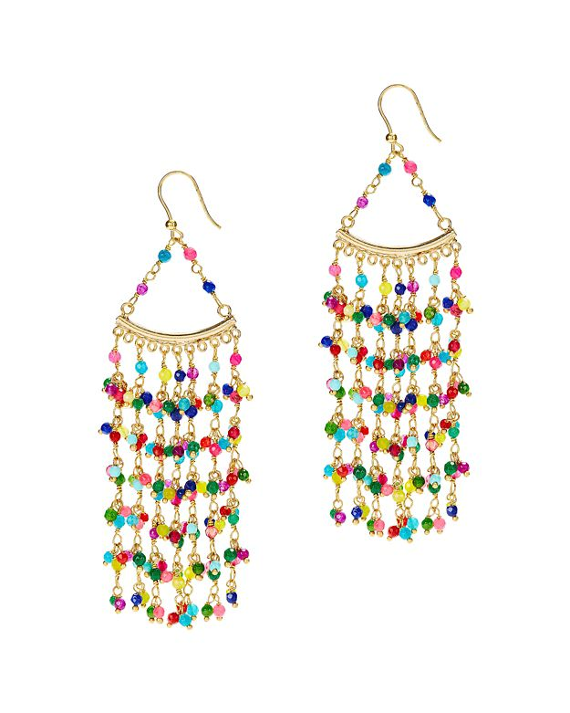 Rosantica L'Imperatrice Colorful Bead Earrings