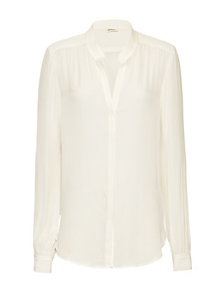 L'Agence Bianca Collar Blouse