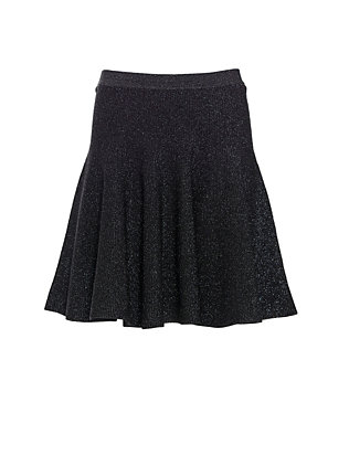 Ronny Kobo Allie Lurex Flare Skirt
