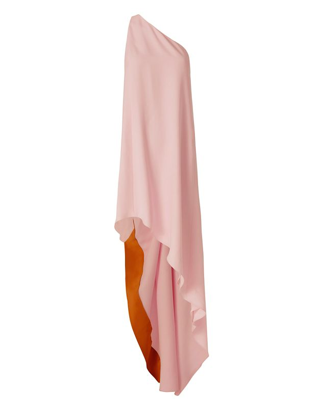 Narciso Rodriguez One Shoulder Gown: Pink