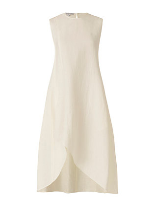 Narciso Rodriguez Linen/Silk Dress