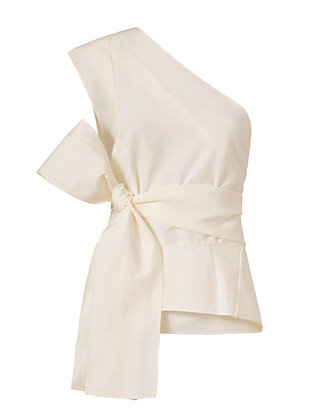 Narciso Rodriguez Origami Wrap Top