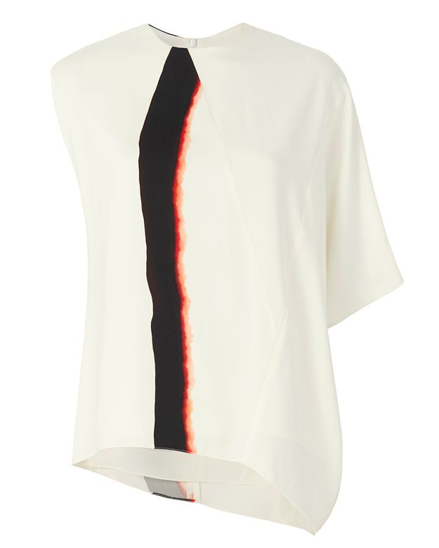 Narciso Rodriguez Mineral Dye One Shoulder Top