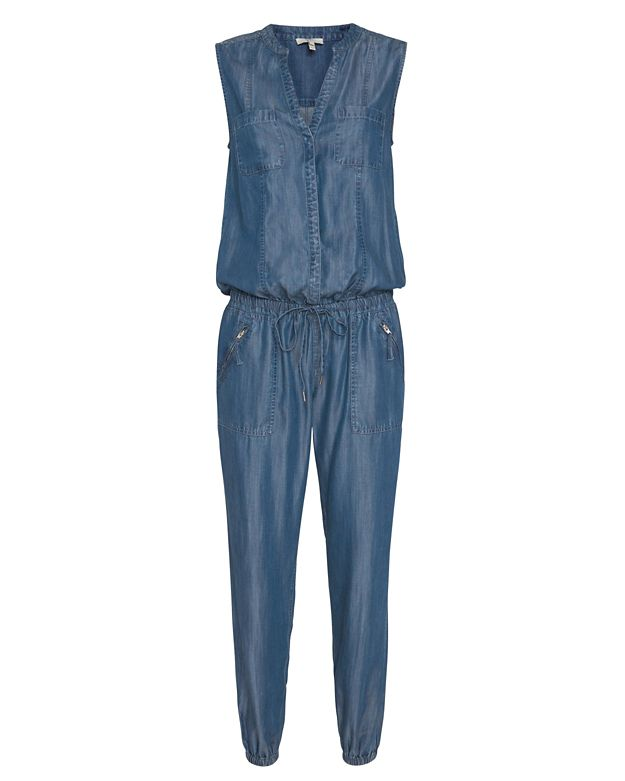 Joie EXCLUSIVE Cargo Denim Jumpsuit