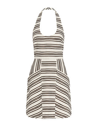 A.L.C. Hudson Halter Stripe Dress