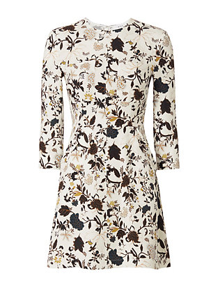 A.L.C. Terry Print Pocket Dress