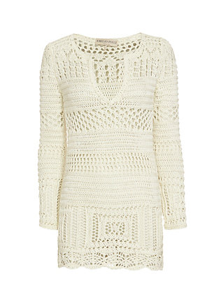 Emilio Pucci Crochet Long Sleeve Dress