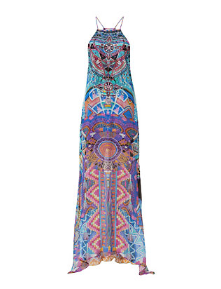 Alice in Essaouira Sheer Overlay Dress