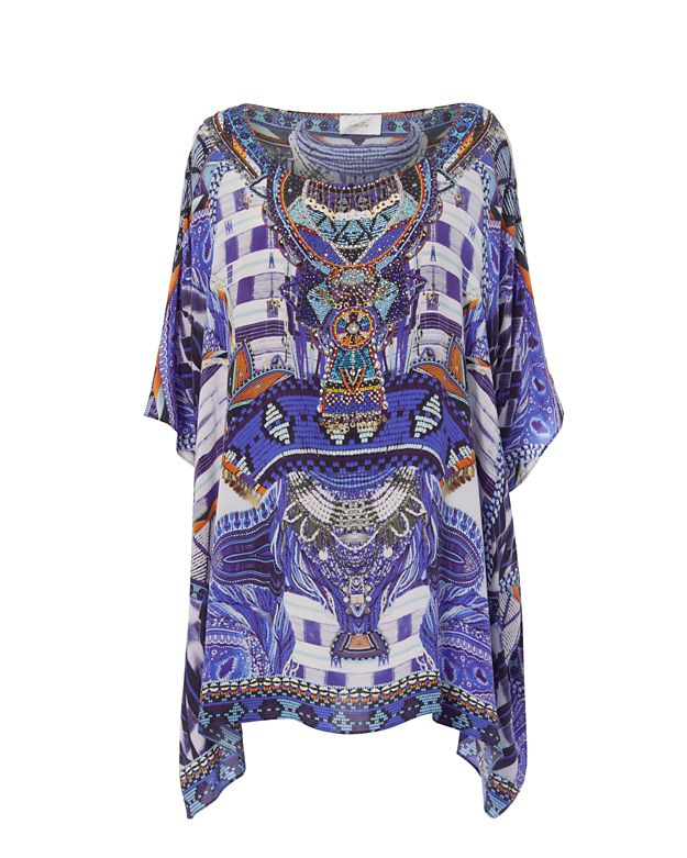 Camilla Rhythm & Blues Short Caftan