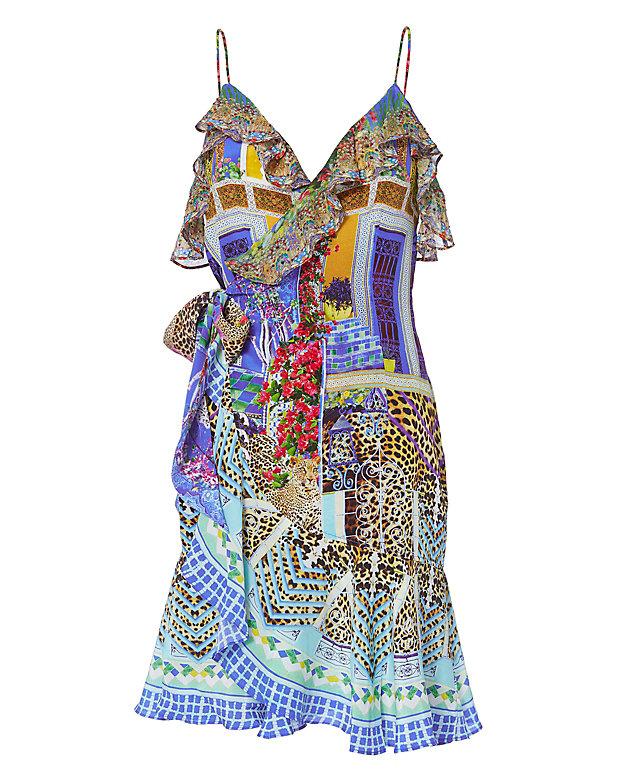 Camilla Bohemian Bounty Wrap Dress Intermix 174
