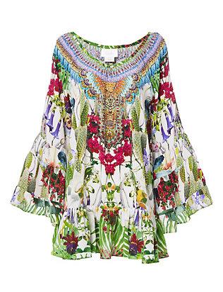Exotic Hypnotic A-line Dress