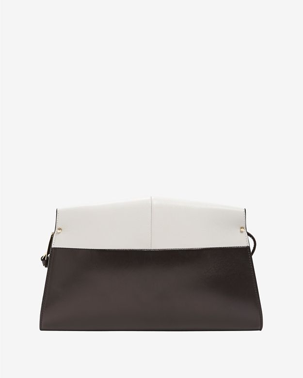 Narciso Rodriguez Aya Bi-Color Clutch