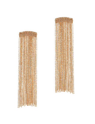 Rosantica Chain Fringe Earrings