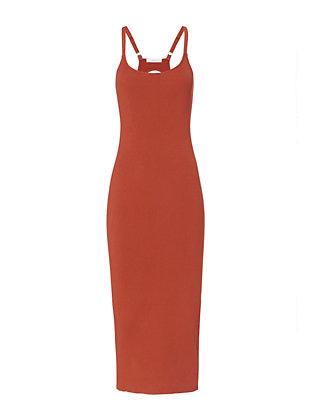 Debi Rib Tank Midi Dress