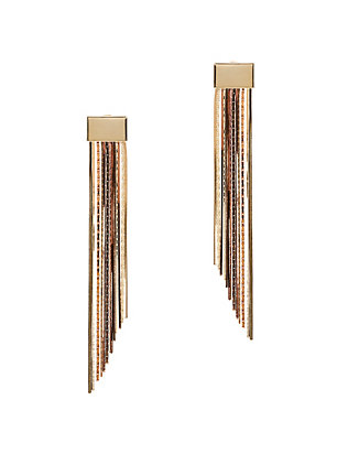 Cattiva Metal Fringe Earrings