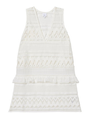 Kisuii Maia Lace Shift Dress