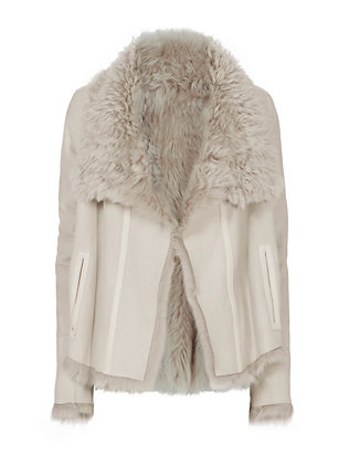 Yves Salomon Toscana Reversible Shearling Lamb Jacket