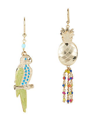 Rosantica Hawaii Pineapple Beaded Earrings