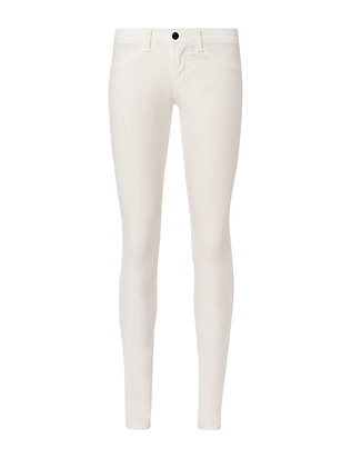 J Brand EXCLUSIVE White Velvet Skinny