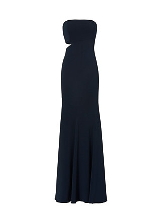 Jay Godfrey Doyle Side Cut Out Gown