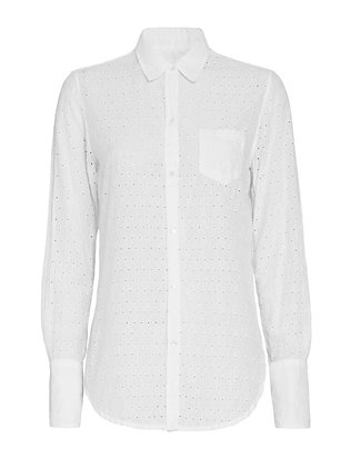 Nili Lotan EXCLUSIVE Eyelet Shirt